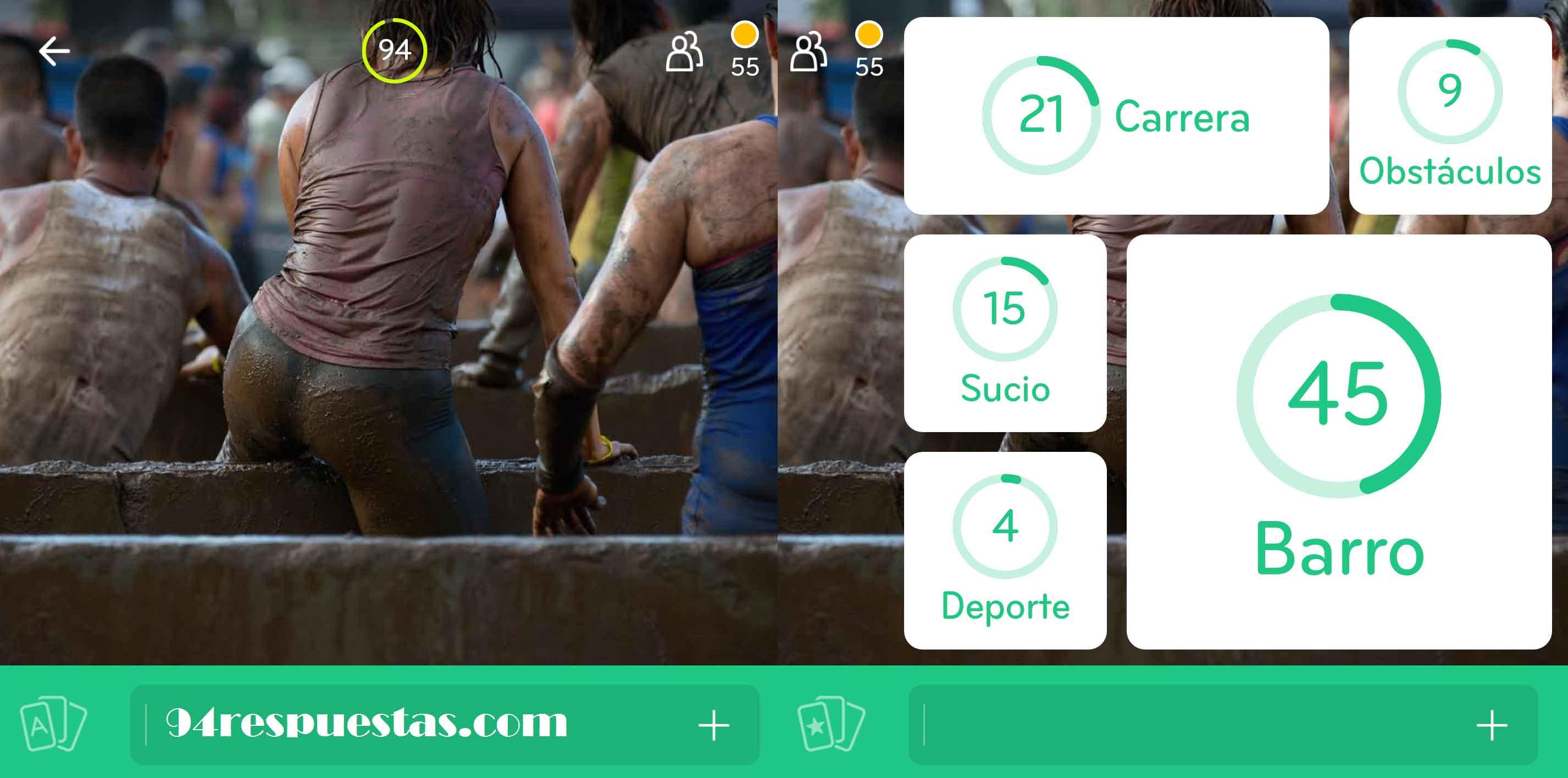 Imagen carrera barro 94 por ciento 94 respuestas for Piscina 94 respuestas
