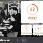 Imagen Mujeres Votando | 94 por ciento