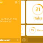Banderas que contienen tres bandas de colores | 94 por ciento